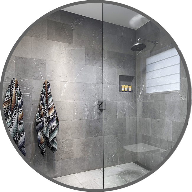 Modern Glass Design - Shower Screens
