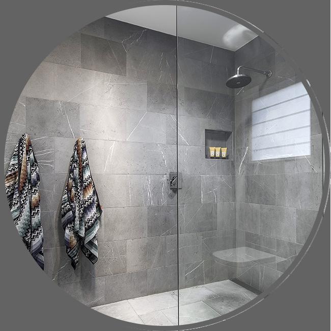 Modern Glass Design - Shower Screens
