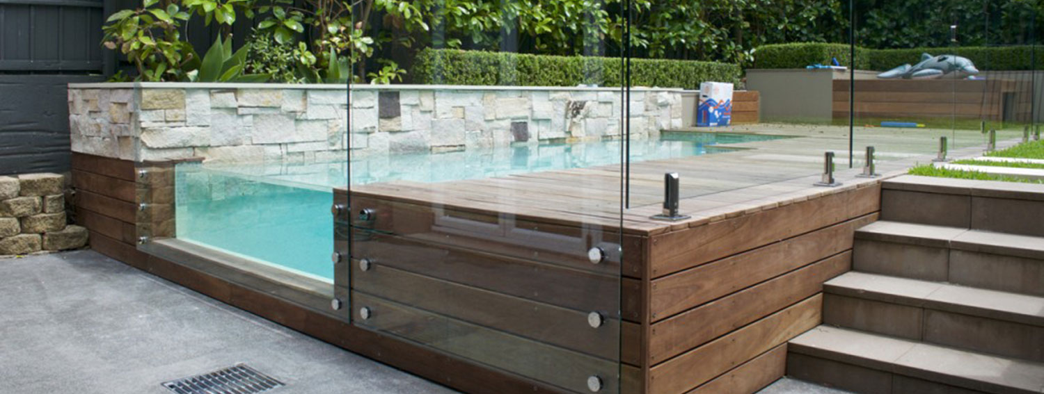 Glass Pool Fencing Chatswood Modern Glass Design